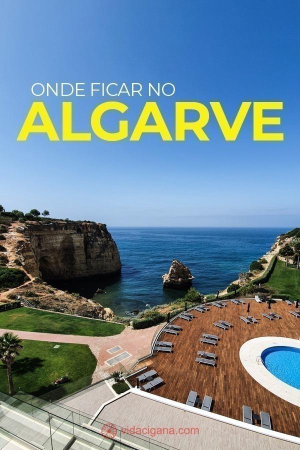 Na hora de saber onde ficar no Algarve, guarde as dicas deste post com as 7 melhores cidades para ficar lá: Lagos, Carvoeiro, Albufeira, entre outras.