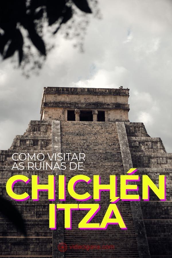 Chichén Itzá: o sítio arqueológico mais popular do México. Como chegar. A pirâmide de Kukulcán, el Castillo. O cenote sagrado e a área de sacrifícios.