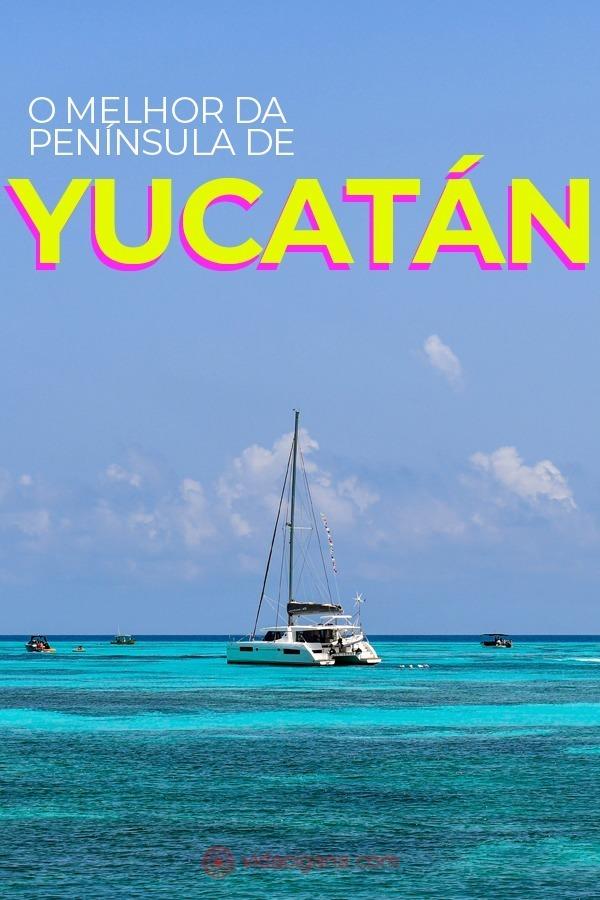 A Península de Yucatán além dos resorts de Cancún. Isla Mujeres, cenotes de Valladolid, Chichen Itza, Tulum, Belize, Tikal