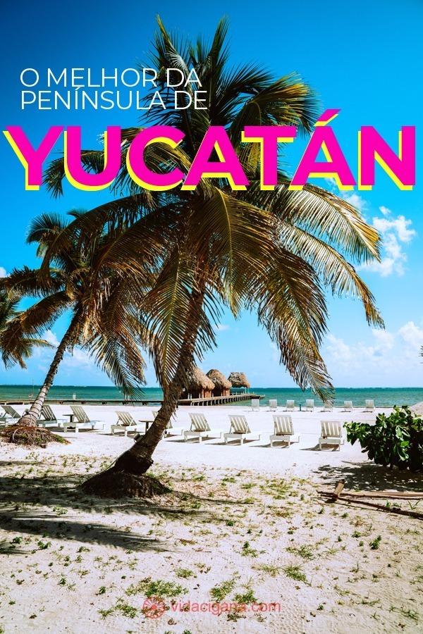 Conheça um dos pedaços mais belos do Caribe, a Península de Yucatán, sem precisar recorrer a resorts que limitam a experiência de viajantes mais inspirados.