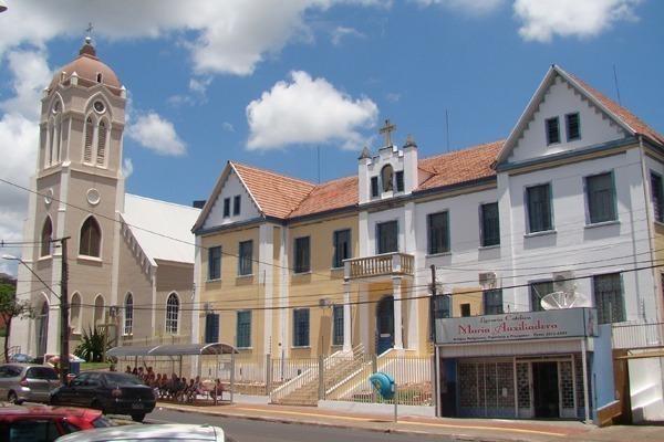 Centro da cidade de Foz
