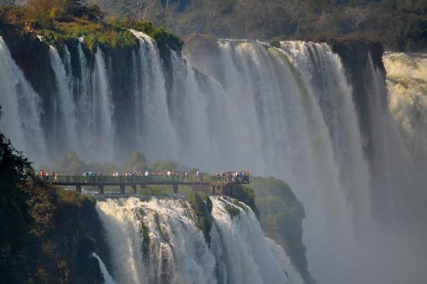 Mirante no Parque Nacional do Iguaçu