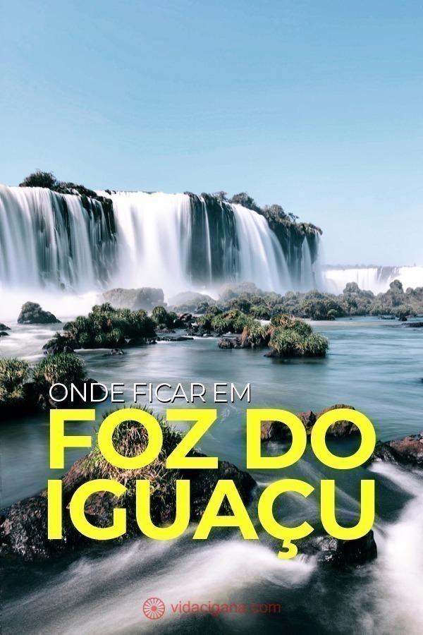 Pensando em onde ficar em Foz do Iguaçú? Separamos 5 áreas da cidade para quem vai visitar, entre elas o Centro de Foz, a Avenida das Cataratas, dentro do próprio Parque Nacional e do lado argentino também.