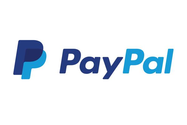 O logo do PayPal em 2 tons de azul