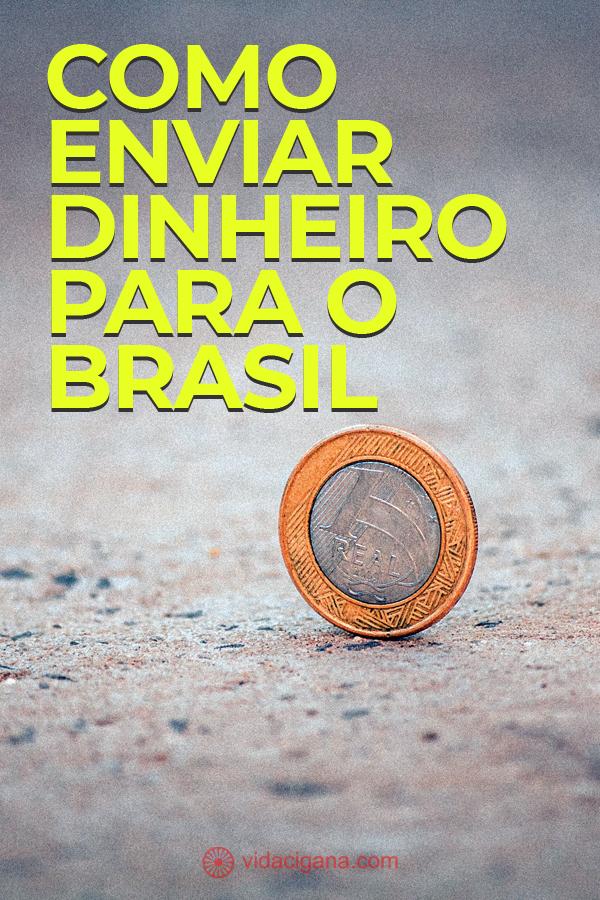 Qual é a melhor forma de enviar dinheiro para o Brasil? Neste texto descrevemos as melhores dicas de empresas e formas diferentes de enviar seu dinheiro em segurança.