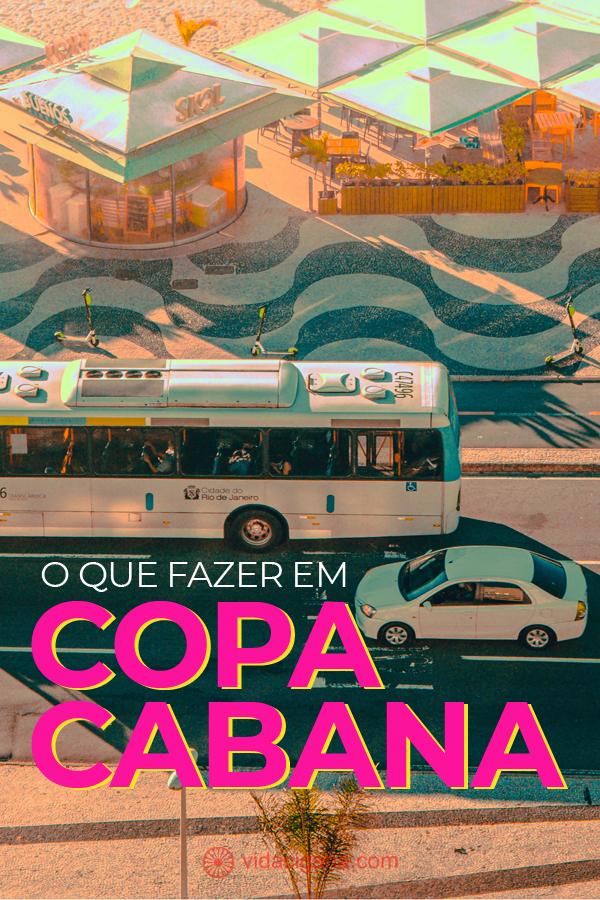 As melhores dicas na hora de querer saber o que fazer em Copacabana. São 14 atrações no bairro mais famoso do Rio, dentre pontos mais turísticos e os mais alternativos.