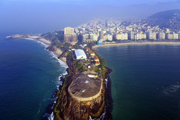 O Forte de Copacabana também é um dos melhores museus no Rio de Janeiro