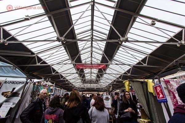 O interior do Greenwich Market