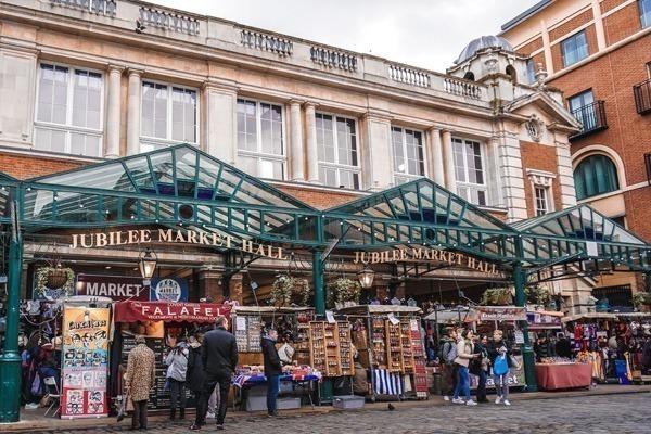 Os mercados de Covent Garden