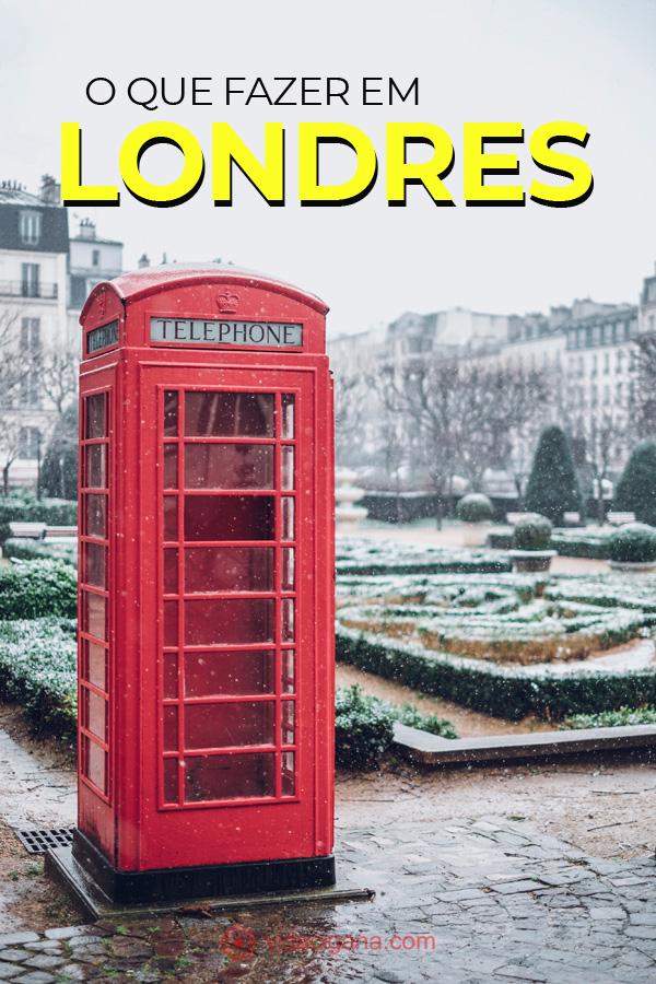 As melhores dicas do que fazer em Londres para o viajante não ficar perdido. Listamos as melhores atrações e as melhores formas de visitar cada uma delas.